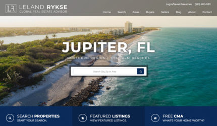 Jupiter Real Estate Website
