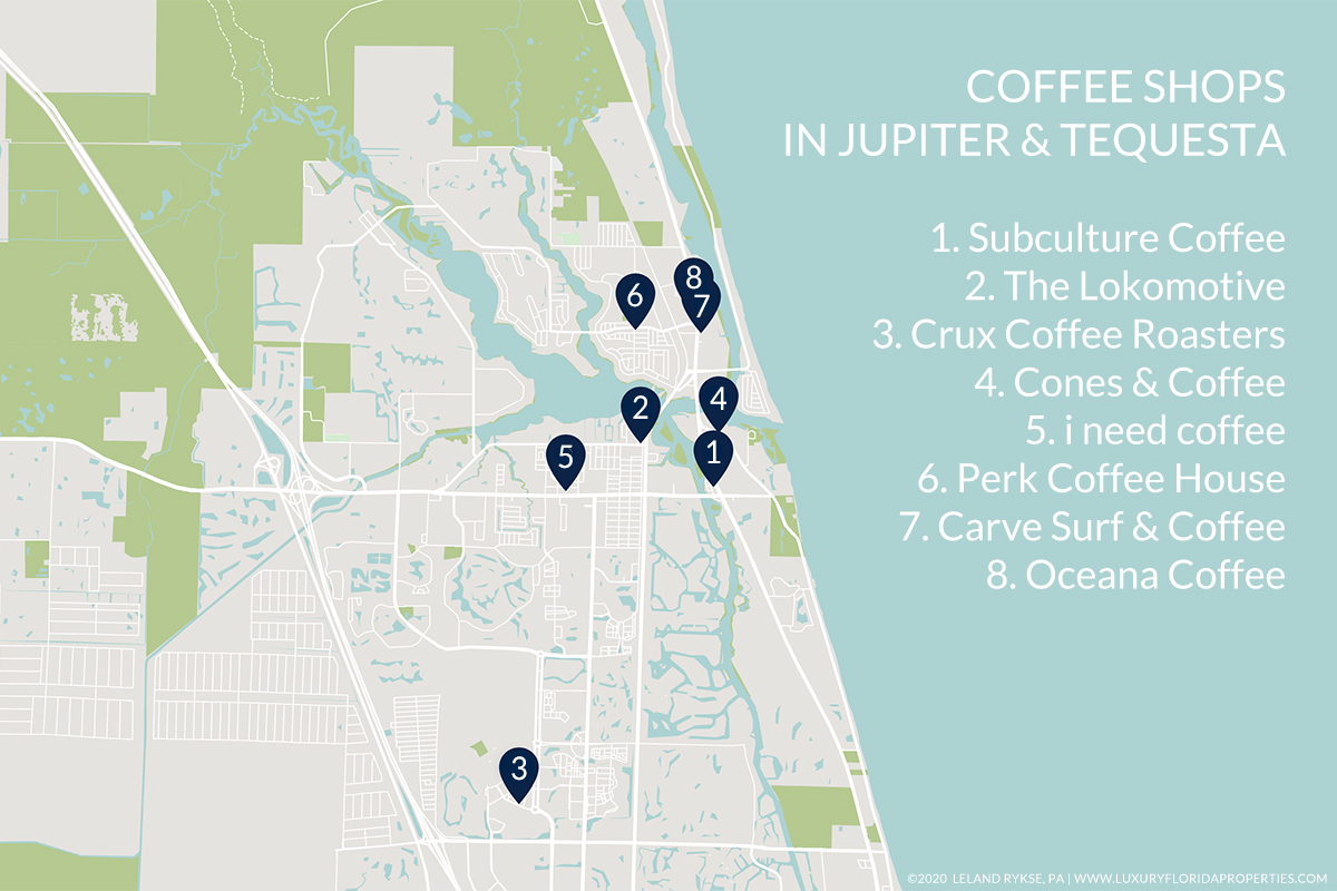 Best Coffee Shops in Jupiter and Tequesta